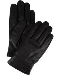 CALVIN KLEIN 205W39NYC - Side-vent Leather Gloves - Lyst