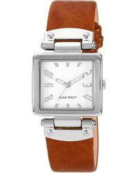 Nine West - 1339svhy Stainless Steel Watch - Lyst