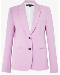 French Connection - Sundae Suiting Pastel Blazer - Lyst