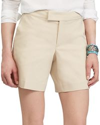 Chaps - Stretch Cotton Shorts - Lyst