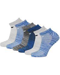 New Balance - Six-pack Active Element No Show Socks Set - Lyst