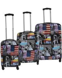 McBrine - Three-piece Greenplus Eco Friendly Suitcase Set - Lyst