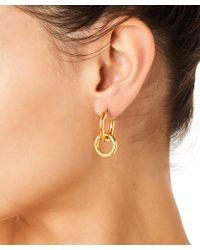 Maria Stern - Single Women Gold Earrings - Lyst
