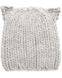 2beec63e9154c Eugenia Kim - Felix Chunky Hand-knit Beanie - Lyst