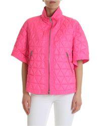 Ermanno Scervino - Neon Pink Cape Scervino - Lyst