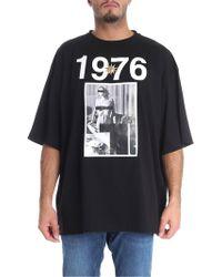 Fausto Puglisi - 1976 Black T-shirt - Lyst