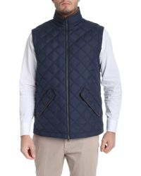 Brooks Brothers - Blue Thermore Padded Waistcoat - Lyst