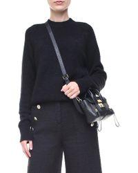 3.1 Phillip Lim - Black Wool And Alpaca Pullover - Lyst