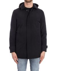 Herno - Black Removable Hood Down Jacket - Lyst