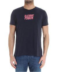 Aspesi - Blue Illusione Perduta T-shirt - Lyst