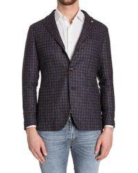 Tagliatore - Wool Blend Jacket - Lyst