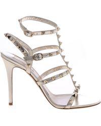d32e51928e Valentino - Garavani Rockstud Sandals - Lyst