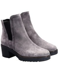 Hogan - Suede Boots - Lyst
