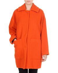 Jucca - Turmeric Orange Short Coat - Lyst