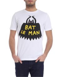 1bf5f2cb Gucci Fy Bat Print Cotton Jersey T-shirt in White for Men - Lyst