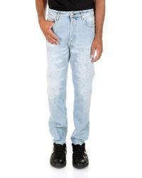 Golden Goose Deluxe Brand - Light Blue Happy 5 Pocket Jeans - Lyst