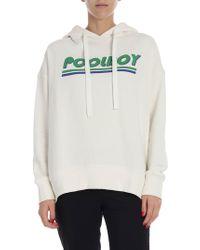 """Baum und Pferdgarten - Cream-color """"jaryn"""" Sweatshirt With Print - Lyst"""