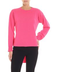 Jucca - Fuchsia Pullover With Ribbon - Lyst