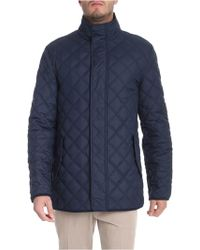 Brooks Brothers - Blue Thermore Padded Jacket - Lyst