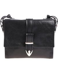 Orciani - Black Cosmo Medium Shoulder Bag - Lyst