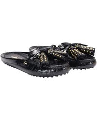 Car Shoe - Patent Leather Mocassins - Lyst