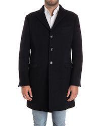 Alessandro Dell'acqua - Wool Coat - Lyst