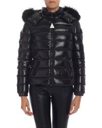 Moncler - Badyfur Down Jacket In Black - Lyst