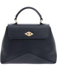 Ballantyne - Diamond Small Black Navy Bag - Lyst