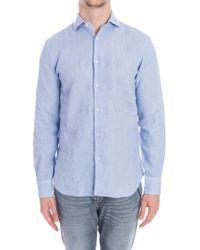 Aspesi - Linen Shirt - Lyst
