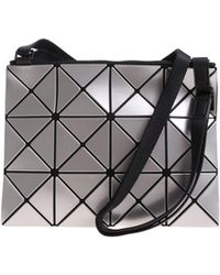 Bao Bao Issey Miyake - Soft Shoulder Bag With Square Motifs And Triangles - Lyst