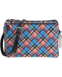 764b310379 Vivienne Westwood Anglomania Sharlemania Black Leather Shoulder Bag in Black  - Lyst