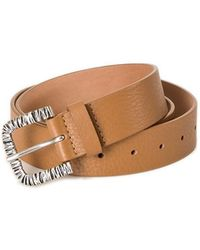 "Orciani - ""vanity"" Leather Belt - Lyst"