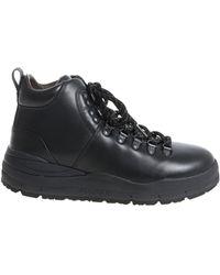 "Woolrich - ""hiker"" Black Shoes - Lyst"