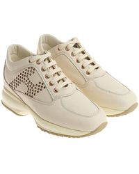 Hogan - Ivory Interactive Trainers - Lyst