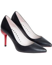 Lulu Guinness - Leather Court Shoes - Lyst