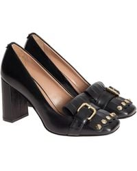 Twin Set - Leather Court Shoes - Lyst