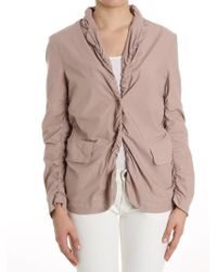 Erika Cavallini Semi Couture - Antique Pink Curled Jacket - Lyst
