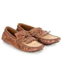 Car Shoe - Leather Loafers - Lyst