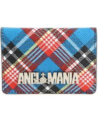 "Vivienne Westwood Anglomania - ""shuka"" Card Holders With Tartan Print - Lyst"