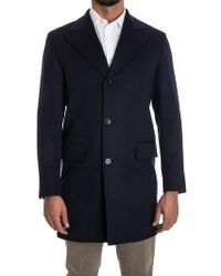 Kiton - Cashmere Coat - Lyst