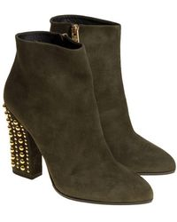 Loriblu - Suede Boots - Lyst