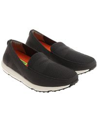 Swims - Grey Breeze Leap Knit Penny Moccasins - Lyst