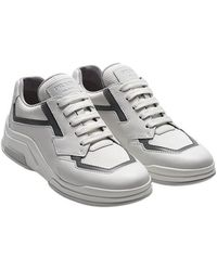 Prada - Leather Sneakers - Lyst