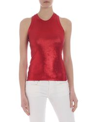 Pinko Valutare Red Top