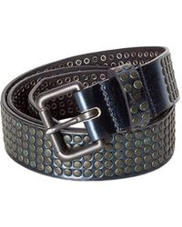 HTC - Leather Belt - Lyst