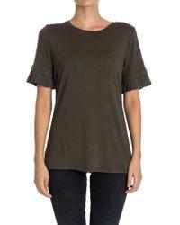 Michael Kors - Viscose T-shirt - Lyst