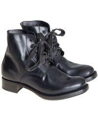 Cherevichkiotvichki - Leather Ankle Boots - Lyst