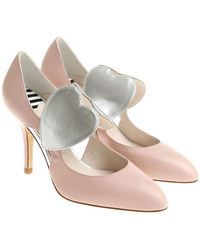 Lulu Guinness - Pink Court Shoes With Side Cut-outs - Lyst