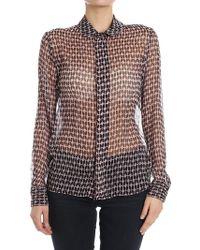Dondup - Silk Shirt - Lyst