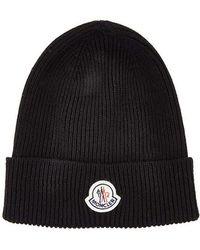 Moncler - Wool Watch Hat - Lyst